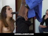 SheWillCheat – Hot Young Wife Fucks BBC While Husband Watches
