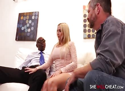 Christie Stevens BBC Cuckold While Hubby Watching