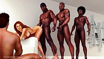 Interracial Cuckold Cartoons