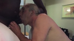 Homemade Bisexual Cuckold Hubby and Wife Suck Dick Together Interracial BBC Amateur
